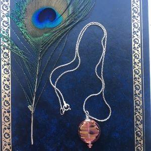 Jewelry - 301: Carnival Rain Venetian Glass Necklace